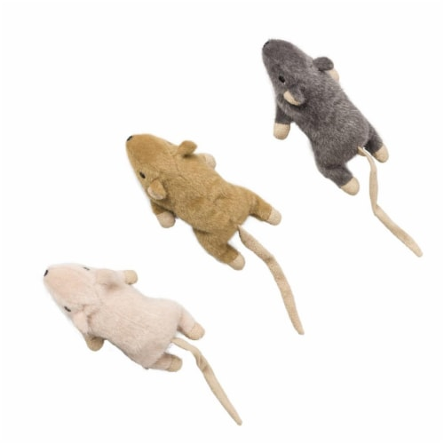 5.5 in. Flat Mouse Franki Nip - Assorted Perspective: front