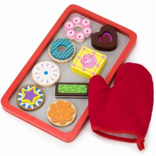 Warm Delights Cookie Tray Playset Perspective: front