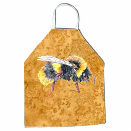 27 H x 31 W in. Bee on Gold Apron Perspective: front