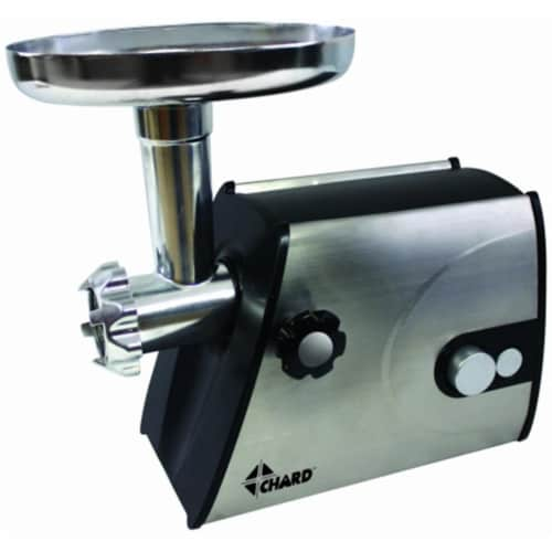 Grinder With Stainless Steel Cutting Plate Perspective: front