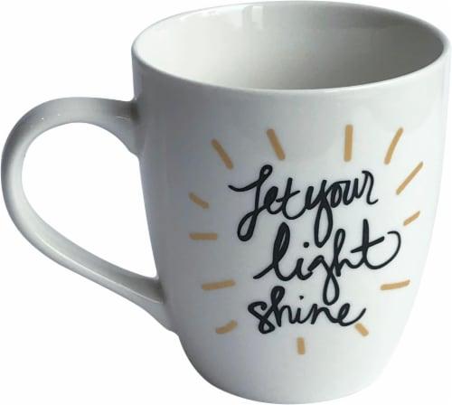 Formation Brands Let Your Light Shine Mug - White Perspective: front
