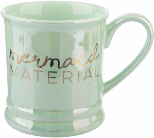 Formation Brands Mermaid Material Footed Mug Perspective: front