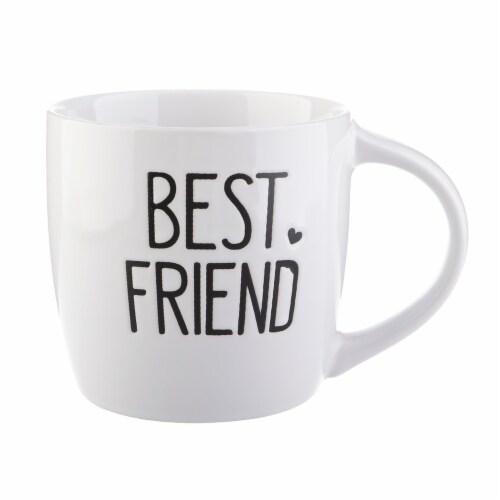 Pacific Market International Best Friend Short Barrel Mug Perspective: front