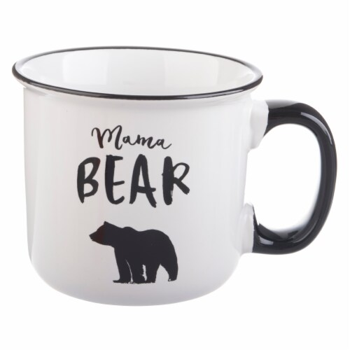 Pacific Market International Mama Bear Camper Mug Perspective: front