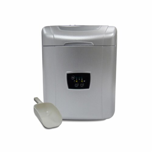 Vinotemp VT-ICEMP25 Portable Ice Maker - Grey Perspective: front