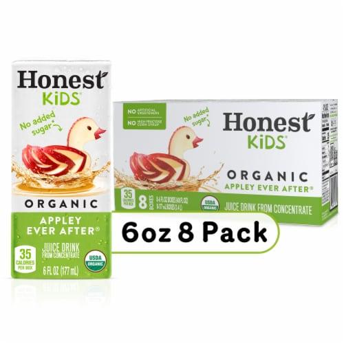 Fred Meyer - Honest Kids Organic Apple Juice Boxes, 8 ct / 6