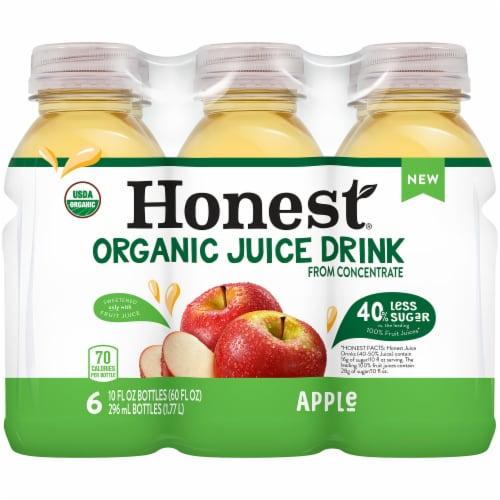 Honest Organic Apple Juice Perspective: front