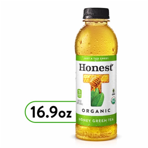 Honest Tea Organic Honey Green Tea Perspective: front