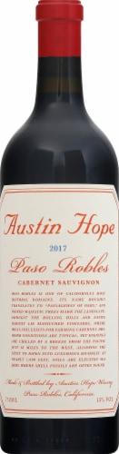 Austin Hope Paso Robles Cabernet Sauvignon Perspective: front
