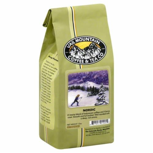 Vail Mountain Nordic Ground Coffee Perspective: front