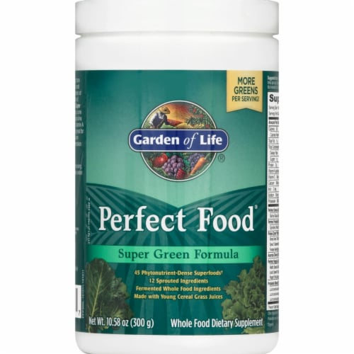 Garden of Life Perfect Food Supplement Perspective: front