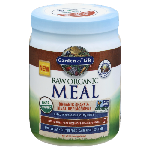 Garden of Life Raw Organic Vanilla Chai Shake & Meal Replacement Perspective: front