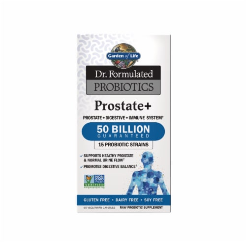 Garden Of Life Dr. Formulated Prostrate Plus Probiotics Perspective: front