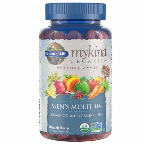 Garden of Life Organic Berry Men's Multi Vitamin Chews Perspective: front