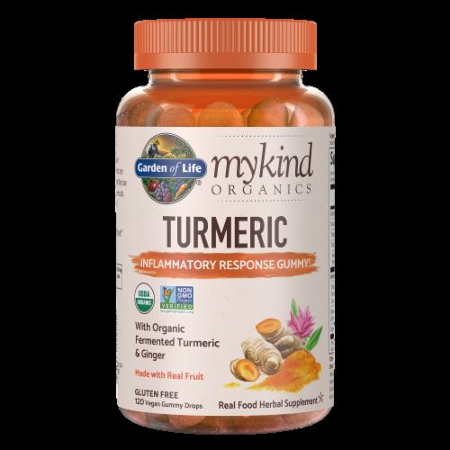 mykind Organics Turmeric Inflammatory Response Gummies Perspective: front