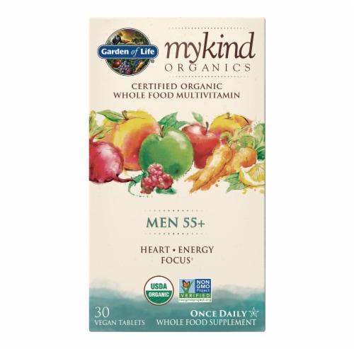Garden Of Life myKind Organics Men 55+ Whole Food Supplement Perspective: front