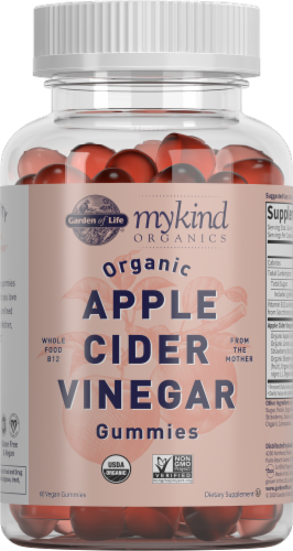 Garden of Life® MyKind Organics Apple Cider Vinegar Vegan Gummies Perspective: front