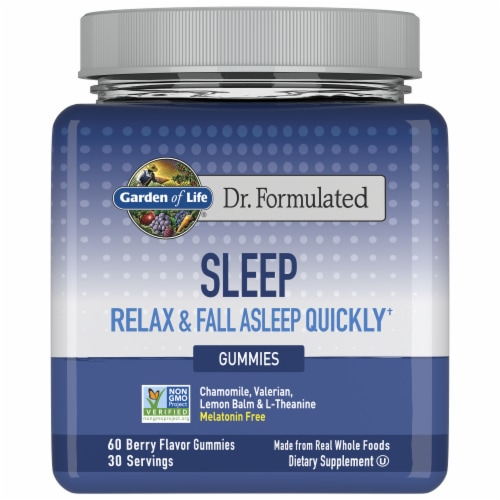 Garden of Life Dr Formulated Sleep Gummies Perspective: front