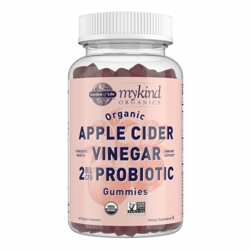 Garden of Life® MyKind Organics Apple Cider Vinegar Probiotic Gummies Perspective: front