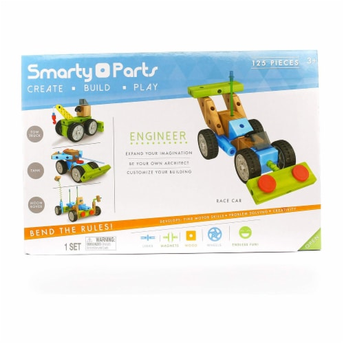 Smarty Parts Engineer Set Perspective: front