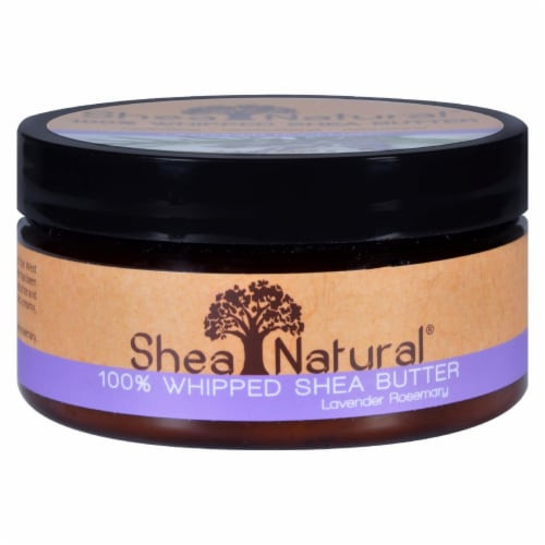 Shea Natural Whipped Shea Butter Lavender Rosemary - 6.3 oz Perspective: front