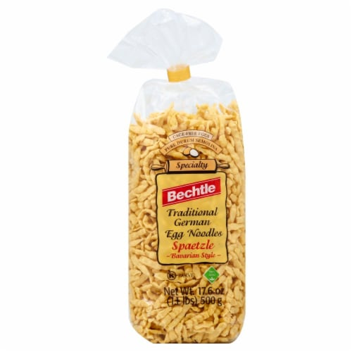 Bechtle Traditional German Egg Pasta Perspective: front