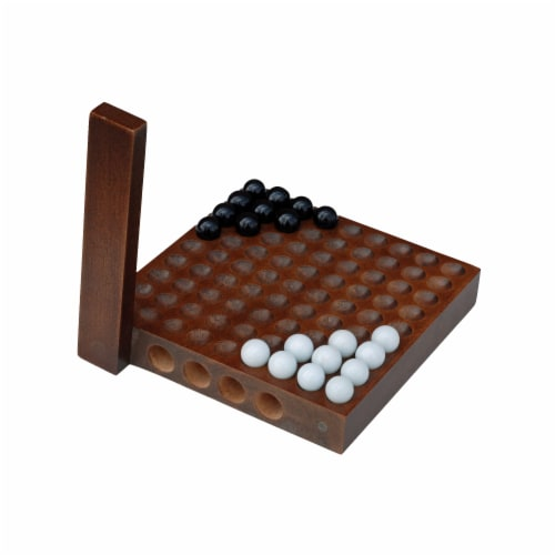 WE Games Classic Chinese Checkers - 5 Inch Travel Size Perspective: front