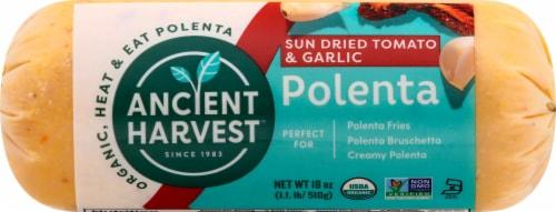 Ancient Harvest Sun Dried Tomato & Garlic Gluten Free Polenta Perspective: front