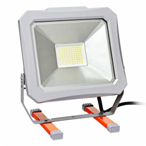 Costway 53W 6000LM LED Work Light for Camping Fishing Perspective: front