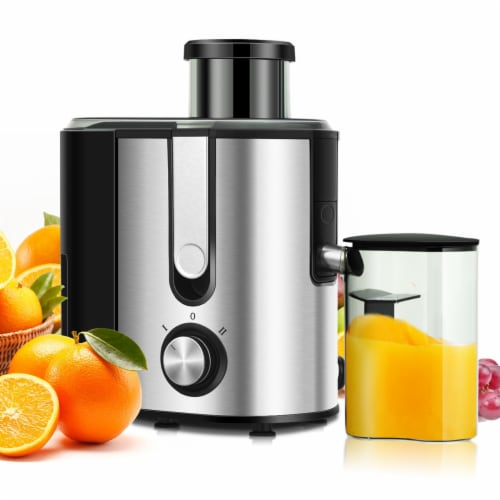 Costway Juicer Machine Juicer Extractor Dual Speed w/ 2.5'' Feed Chute Perspective: front