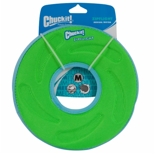 Chuckit Small Paraflight Disc Dog Toy Perspective: front