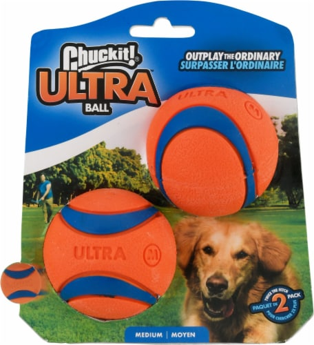 Chuckit! Ultra Ball 2 Pack Perspective: front