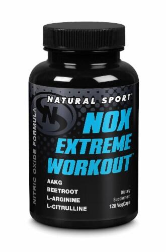 NOX Extreme Workout Vegcap 120 Count Perspective: front