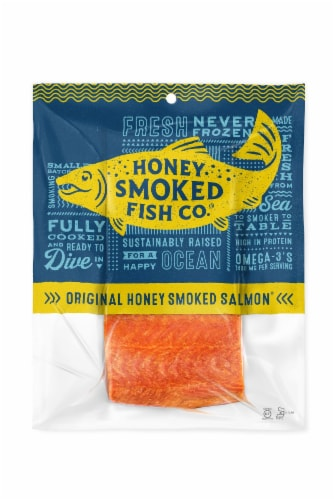 Honey Smoked Fish Co. Original Salmon Perspective: front