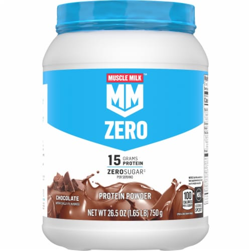 Muscle Milk 100 Calorie Chocolate Protein Powder Perspective: front