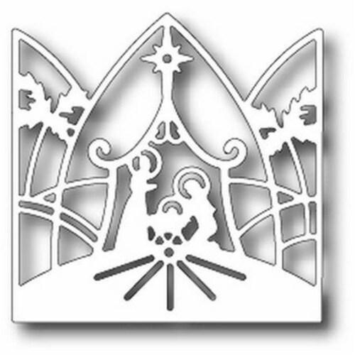 Tutti Designs - Dies - Nativity Crown Scene Perspective: front