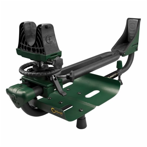 Caldwell Lead Sled 2 Outdoor Range Adjustable Ambidextrous Rifle Shooting Rest Perspective: front