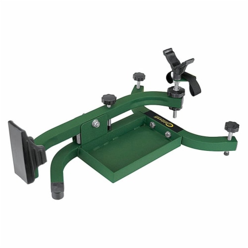 Caldwell 101777 Led Sled Solo Adjustable Rifle Shooting Rest for Outdoor Range Perspective: front
