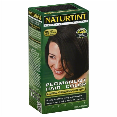 Naturtint Light Chestnut Brown Hair Color Perspective: front