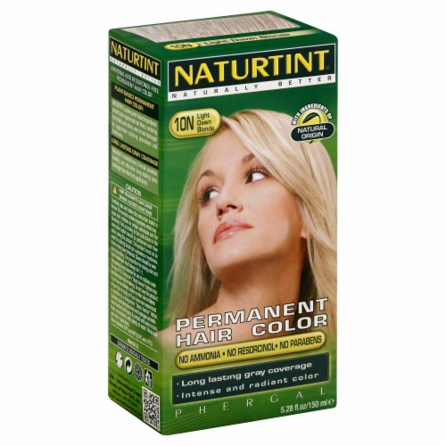 Naturtint Light Dawn Blonde Hair Color Perspective: front