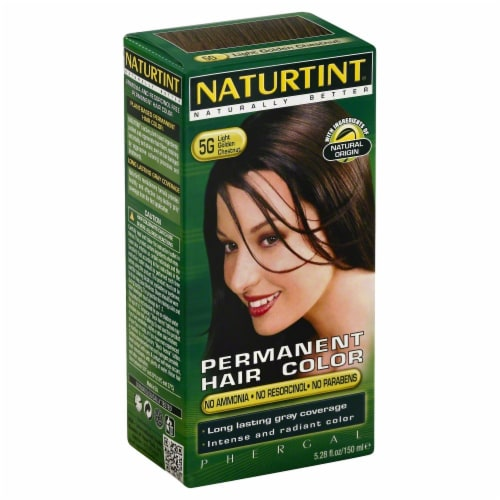 Naturtint Light Gold Chestnut Hair Color Perspective: front