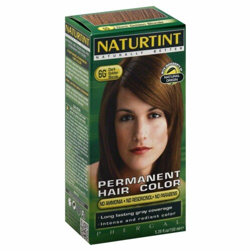Naturtint Dark Gold Blonde Hair Colorant Perspective: front