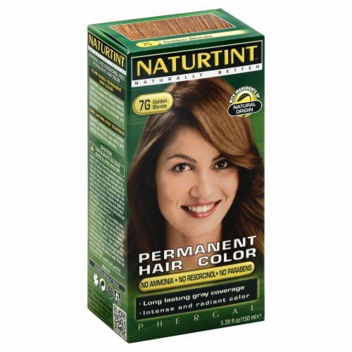 Naturtint 7G Golden Blonde Hair Colorant Perspective: front