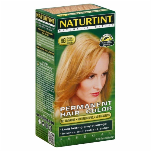 Naturtint Sandy Golden Blonde Hair Colorant Perspective: front