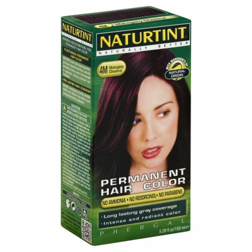 Naturtint Mahogany Chestnut Hair Color Perspective: front