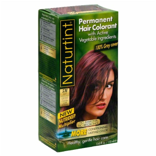 Naturtint Light Mahogany Chestnut Hair Color Perspective: front