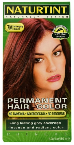 Naturtint 7M Mahogany Blonde Permanent Hair Color Perspective: front