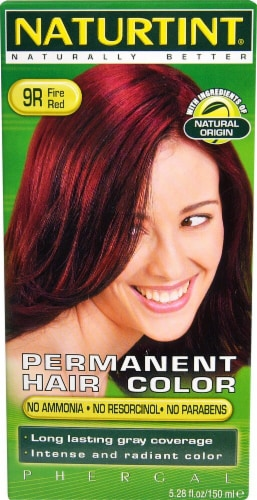 Naturtint Permanent Hair Color - 9R Fire Red Perspective: front