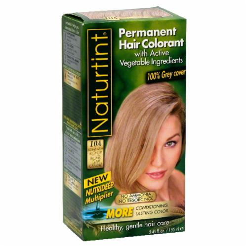 Naturtint Light Ash Blonde Hair Color Perspective: front