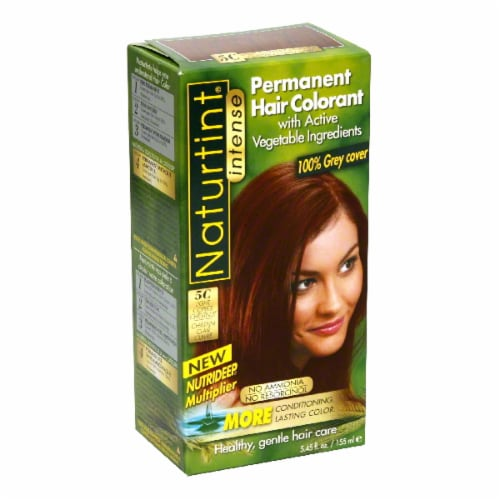 Naturtint Light Copper Chestnut Hair Color Perspective: front